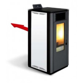 PELLET STOVE HIGH EFFICIENCY PARIS 12 CHANNELLED
